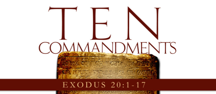 Ten Commandments Sermon Series