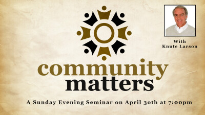 Community Matters with Knute Larson